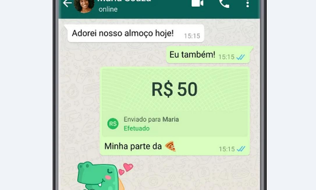 WhatsApp libera convite para transferência bancária através do aplicativo para usuários brasileiros