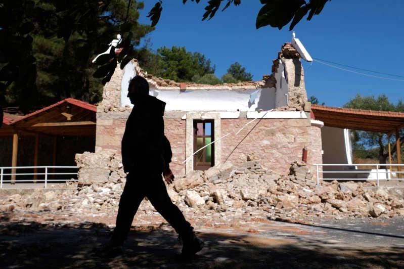 Terremoto de magnitude 5,8 atinge a ilha de Creta, na Grécia