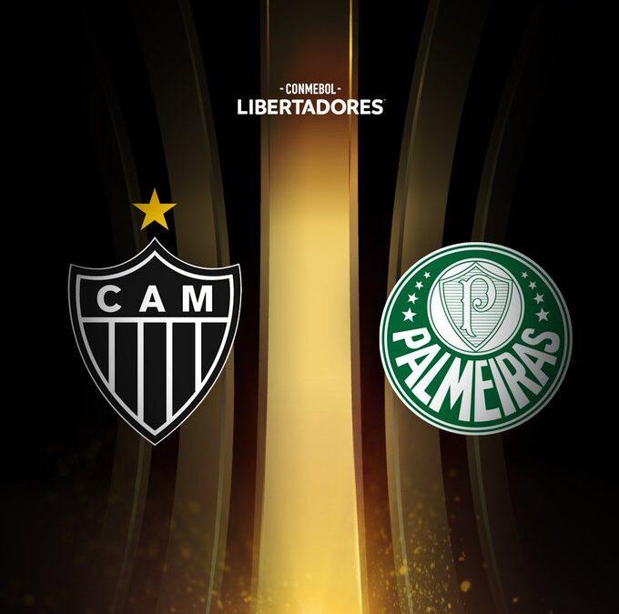 Libertadores: Atlético-MG e Palmeiras decidem vaga na final