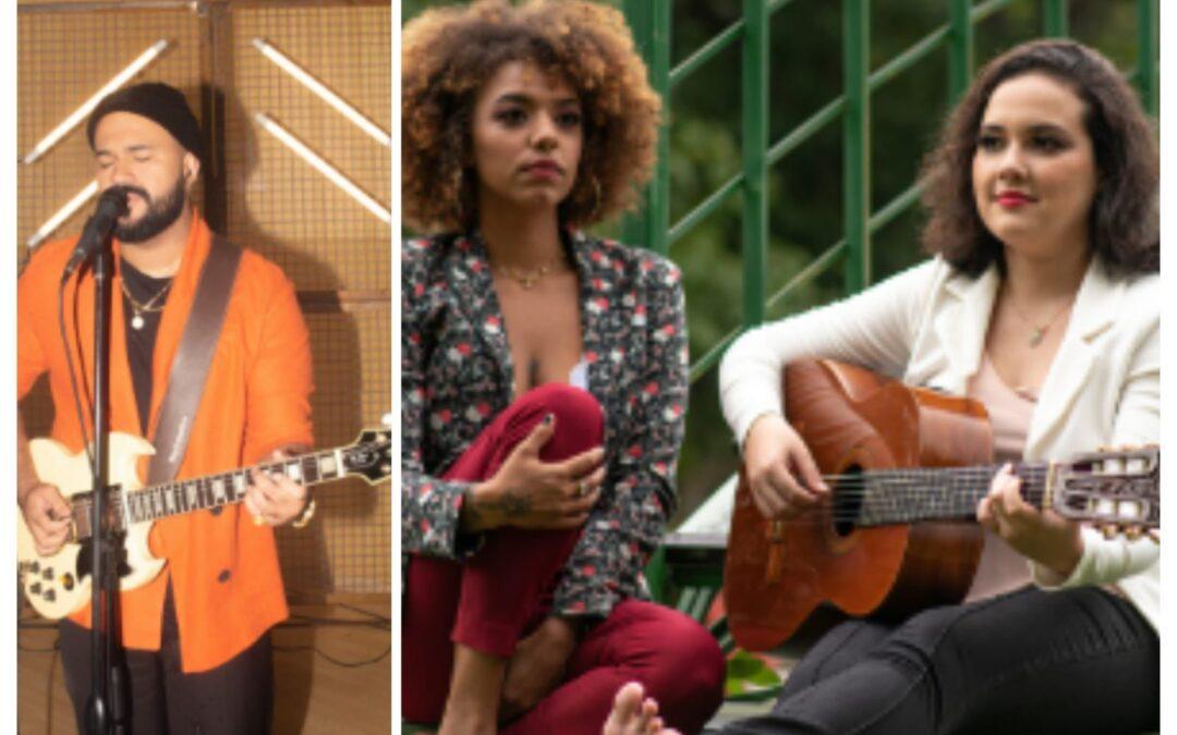 Som da Concha deste sábado terá voz e violão de Femme Lounge e a guitarra de Ton Alves